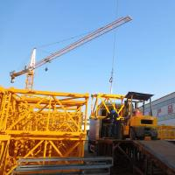 Tower Crane Climbing : Qtz inner climbing tower crane of towercrane