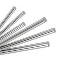 Buy cheap CK45 Hydraulic Piston Rods , Chrome Plated Bar High Precision product