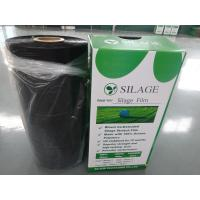 China Blown Black Color Bale Wrapping Film Black Film on sale