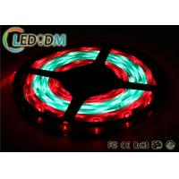 Buy cheap Silicone IP68 Addressable LED Strip Lights , 12V 60 Pixel WS2811 RGB LED Strip product