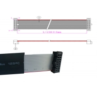 Buy cheap Low Frequency 10 Pin 1.27P Flat Flex Ribbon Cable product