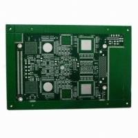 Buy cheap Multiple-layered PCB, Mechanical Blind Via 0.35mm and Thick Copper Board product