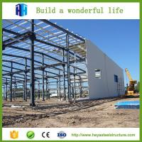 Buy cheap HEYA prefabricated mobile aircraft hangar shelter construction with low cost product