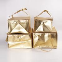Buy cheap OEM Custom Printing Soft Insulated Cooler Bag 4 size golden insulated bag stock available product