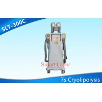 Buy cheap Four Cryo Handles Working Together Fat Freezing Cryolipolysis Slimming Machine from Wholesalers
