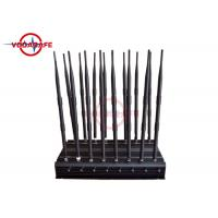 Buy cheap 16 Antennas Wireless Signal Jammer , Signal Jamming Device Good Cooling System product