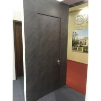 Buy cheap Italy Style 45mm Aluminum HPL Frameless Door for American Villa Market product