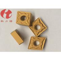 Buy cheap CNMG120408-PMK CNC Turning Inserts Universal Chipbreakers Cuting Steel / Cast Iron product