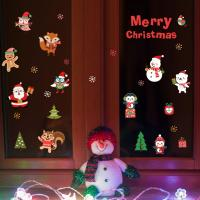 Buy cheap Durable Christmas Wall Stickers PVC 3D Santa Claus Snowman Penguin Pattern product