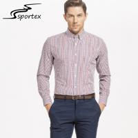 Buy cheap Fashion Striped Formal Shirts Breathable Featuring OEM / ODM Accepted product