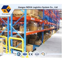 Buy cheap Customized Pallet Rack Storage Systems With Steel Q235 ISO9001 SGS CE product