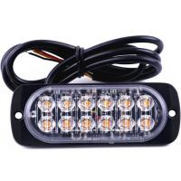 Buy cheap Universal Super Bright Car Truck Warning Light Caution Emergency strobe light 12-24V 36W product