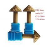 Buy cheap 10mm 3D Diamond Diamond Sculpture Carving Tools Metallurgical Melt Diamond Tools product