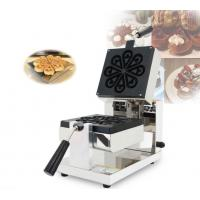 Buy cheap Anti Corrosion Food Industry Machines Rotary Mini Waffle Maker Machine product