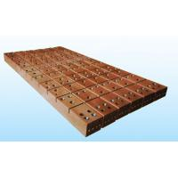 Buy cheap CCM Wall Plating Flat Copper Sheets Square Rectangular And Round Types High Speed product