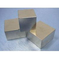 Buy cheap Neodymium Iron Boron Magnets Block with Highly Consistent Magnetic Property product