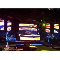 Buy cheap P4.81mm Full Color Indoor Led Display , Aluminium Panel Stage Screen Background product