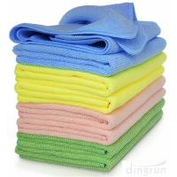 China High Absorbent Microfiber Cleaning Cloths Towel For Kitchen Car Windows on sale