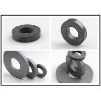Buy cheap High Temp Ferrite Ring Magnet Cylindrical / Spherical Shape DC Motor Magnets product
