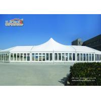 Buy cheap White High Point Luxury Wedding Party Tents Aluminum With Clear Church Windows from Wholesalers