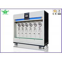 Buy cheap 6 Station Wire Testing Equipment For Robot Cable Bending Test Cria 0003.2 product