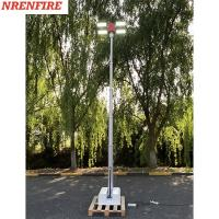 Buy cheap 4x120W LED lamps mounted roof mast light 4.5m pneumatic telescopic mast, vehicle roof mount mast light tower product