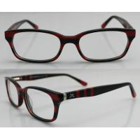 Buy cheap Stylish Custom Handmade Acetate Optical Eyeglass Frames For Ladies, 52-17-135mm from wholesalers