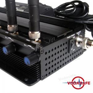8 RF Power Adjustable Mobile Phone Signal Jammer 2G 3G 4G 5G Cell Phone Signal Jammer