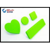 Buy cheap Rubber Kids Furniture Knobs Silicon Cupboard Green Knobs Soft Plastic Pink Heart Cabinet Knobs product