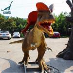 Buy cheap Most Popular Backyard Rides Animatronic Dinosaur Dilophosaurus product