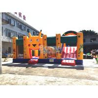 Buy cheap Fire - resistant Big Inflatable Bounce House With Slide Combo SCT EN71 product