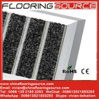 Buy cheap Aluminum large doormat scrape dirt anti-slip for commercial building and home entrance areas product