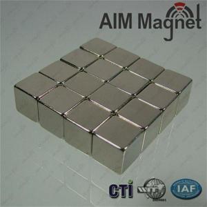 Buy cheap 10 x 10 x 10mm thick N42 Neodymium Magnet - 4.7kg Pull product