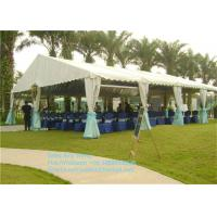 Buy cheap Waterproof PVC Materials Garden Party Tents 100 People Party Marquee Tent Outdoor product