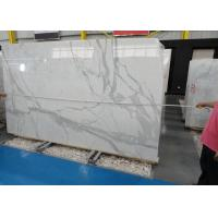Buy cheap Morden Design Italy Calacatta Marble Slab , Marble Wall Slab 20mm Thickness product