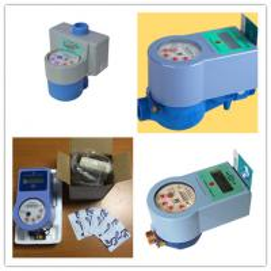 Buy cheap Smart IC Card Prepaid Water Meter Digital Remote Reading Anti Damage product
