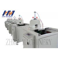 Buy cheap Small Size Profile Plastic Sheet Cutting Machine Pneumatic Type Cutter With Saw product