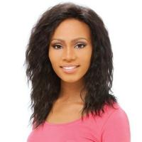 Buy cheap 100% human hair Jeri curl lace wig product