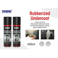 Buy cheap Rubberized Undercoat , Car Care Spray For Resisting Chipping / Abrasion / Corrosion product