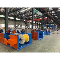 Buy cheap Custom Pvc Wire Making Machine / OEM Cable Wire Manufacturing Machines product