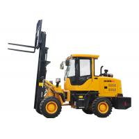 Buy cheap Small All Terrain Electric Forklift Truck 920 FL , Forklift Front End Loader product