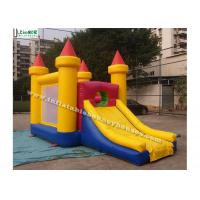 Buy cheap Commercial Grade Inflatable Games Mini Bounce House With Slide For Children product