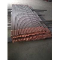 Buy cheap titanium clad copper rod bars for Electrolytic and alkali manufacturing product