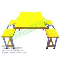 Buy cheap Supply ABS portable folding table with four chairs product