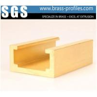 Buy cheap Durable Build Decorative Copper Material Profiles Section In Brass product