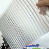 Buy cheap PET 51X71CM 75LPI 0.45mm Lenticular Sheet with super transpancy for making Lenticular 3D Cards by UV printer in Spain product