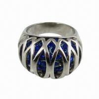 Buy cheap Blue birdhouse ring with sapphire product