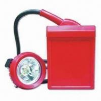 Buy cheap Miners' Lamp with Rating Voltage of 3.7V and 4Ah Capacity product