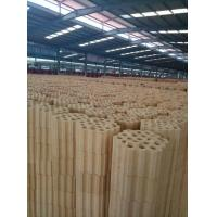 High Temperature Resistance Silica Refractory Bricks Varius Shapes Light Yellow Color