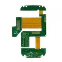 Buy cheap 4 layer Rigid-flex PCB with Stiffener, FR4 and PI Material product
